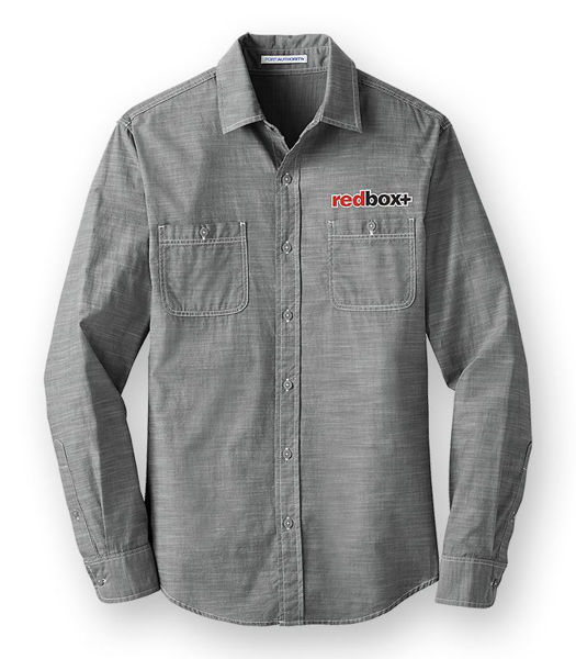 Picture of W380 - Long Sleeve Washed Woven Shirt
